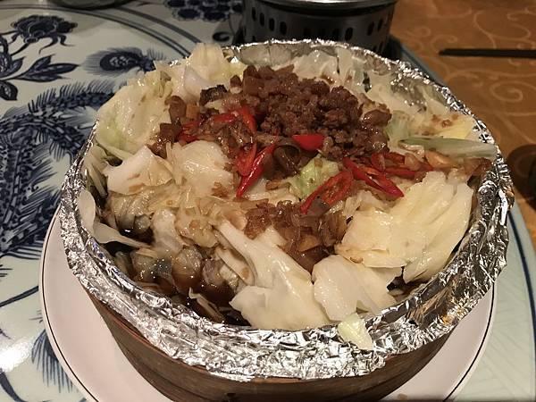 蒸籠高麗菜