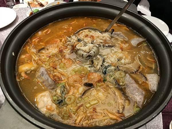 櫻花蝦海鮮粥