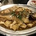 蒜燒黃魚豆腐