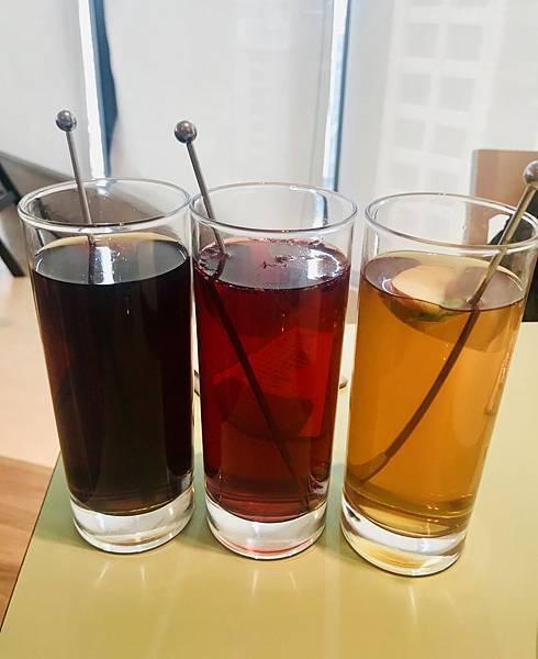 酸梅湯&白桃紅茶&蘋果醋