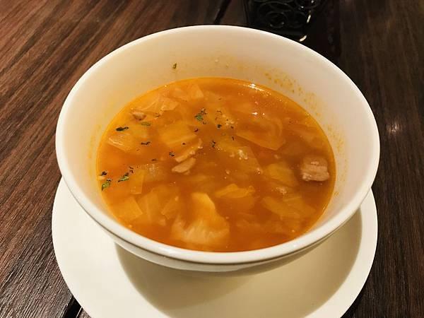 義式番茄野菜培根湯