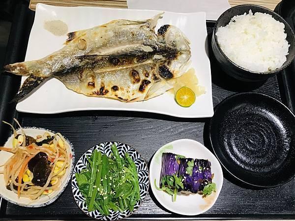 午仔魚定食