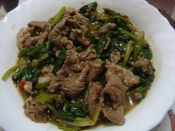 炒沙茶羊肉