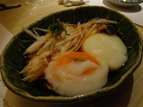 前菜-山藥麵線溫泉蛋