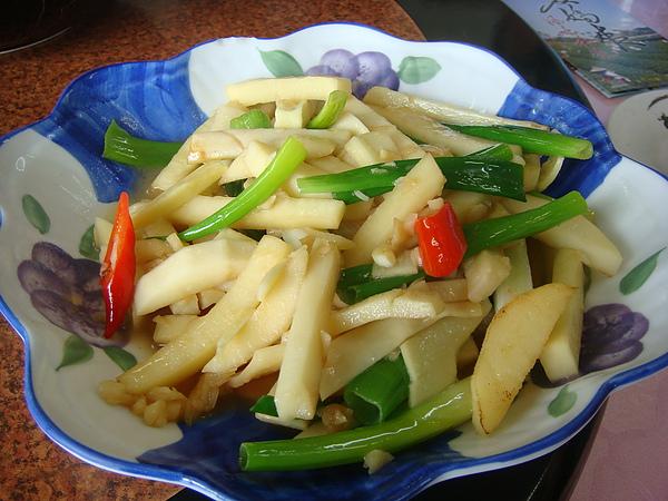 茶油炒棕筍