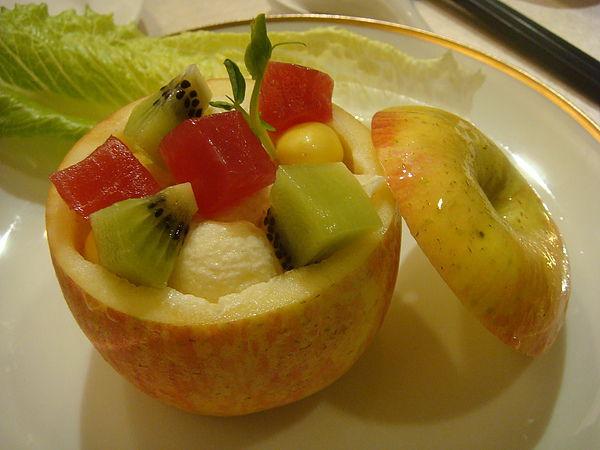 鮪魚水果沙拉