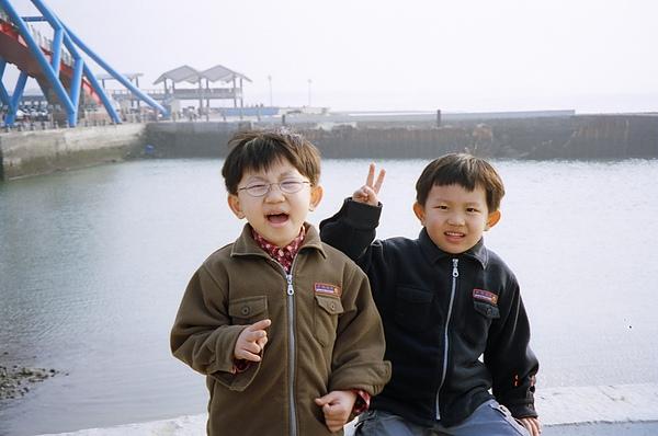 永安漁港(當時好冷)