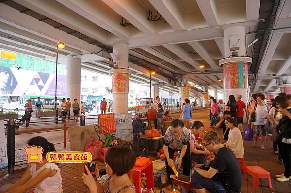 DSC07367香港鵝頸橋下打小人