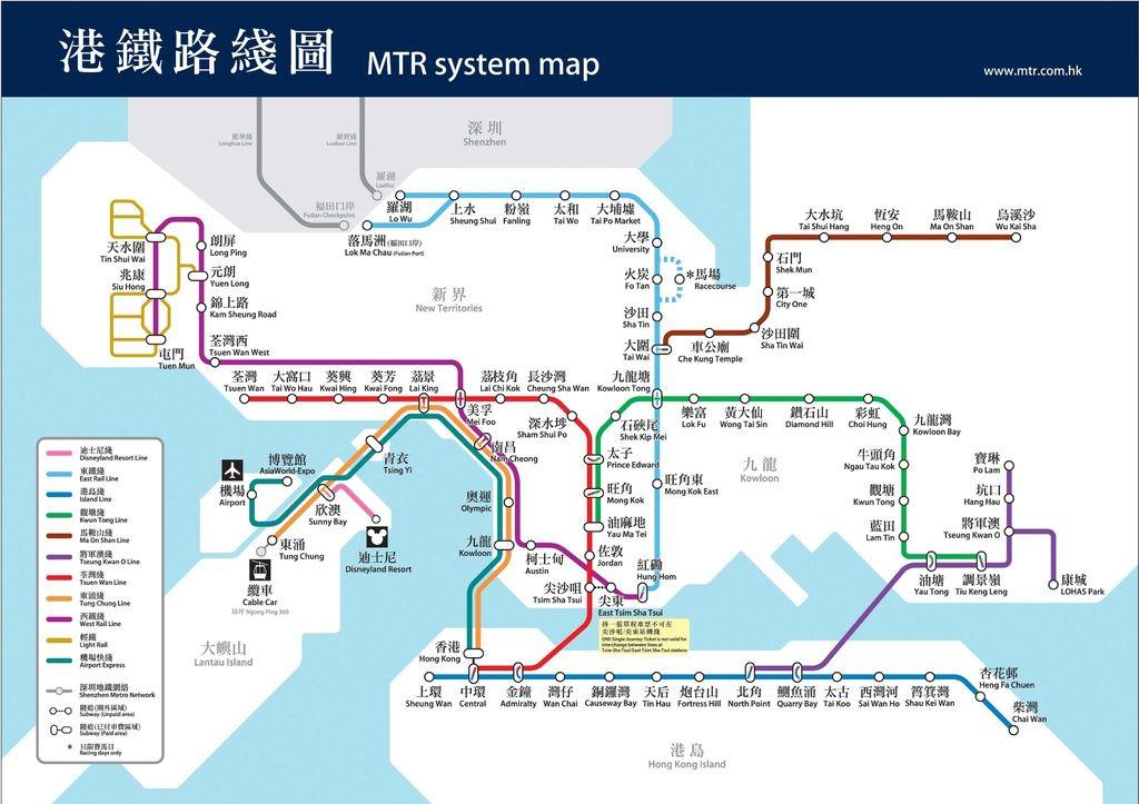 港鐵路線圖