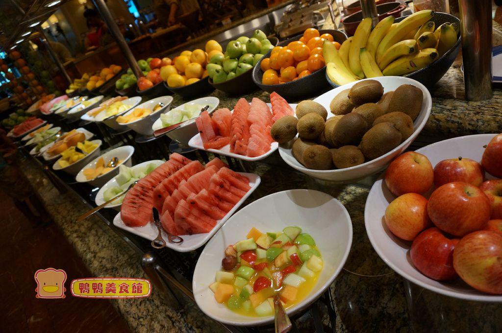 早餐水果區