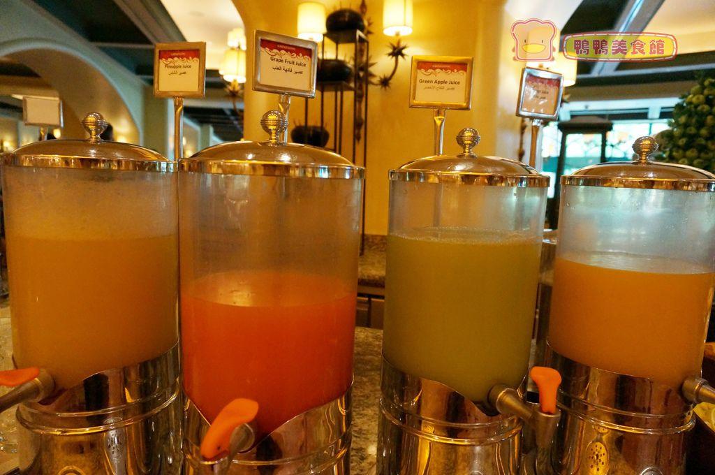 早餐果汁區