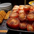 早餐薯餅烤番茄