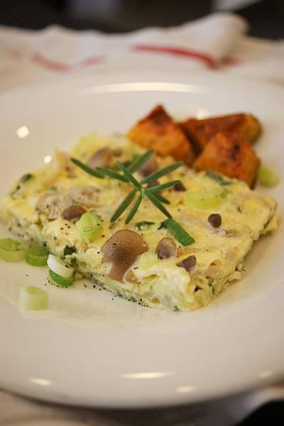 青蔥高麗菜烘蛋