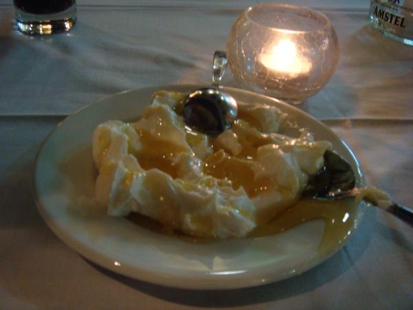 超好吃的希臘蜂蜜優酪