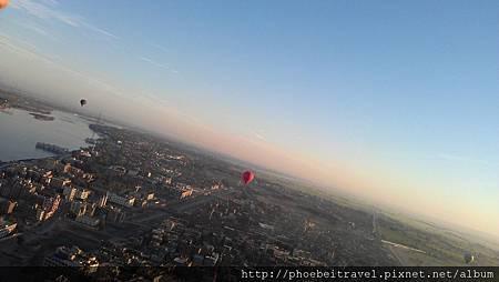 熱氣球比想像中還平穩