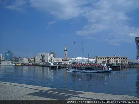 巴塞隆納港的地中海