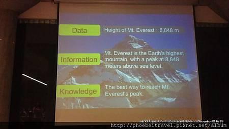 關於資訊化圖表分享By 李柏鋒