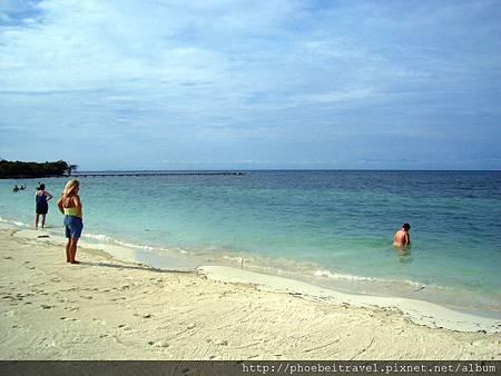 度假村的私人海灘