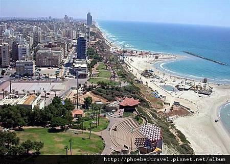 1-地中海邊的城市- Netanya 內堂雅的海岸-001