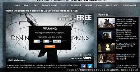 2013-04-19_第一集免費觀看_圖片取自Da Vinci's Demons官網