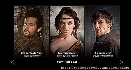 2013-04-19_主要演員列表_圖片來源Da Vinci's Demons官網