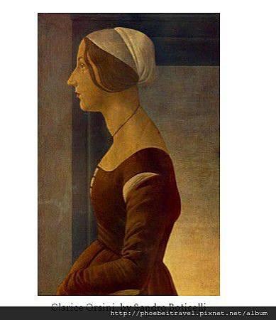 Clarice Orsini, by Sandro Boticelli