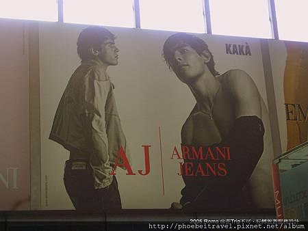49-羅馬特米尼車站裡的卡卡廣告