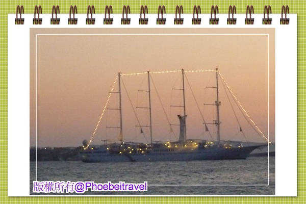 四軌大帆船讓我們拍照拍兩天才駛走jpg