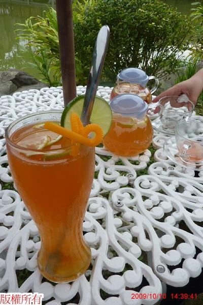 很好喝的柑茶