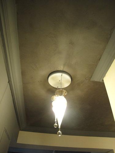 益康珪藻土泰山明志路老師家-天花板