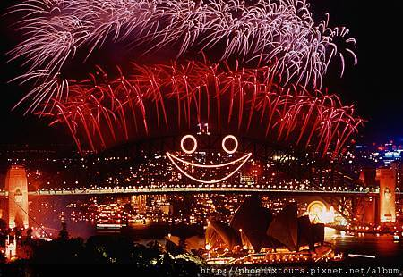 雪梨大橋煙火