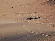 沙漠四輪傳動貝都因村之旅