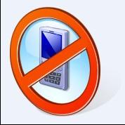 禁止使用電子產品