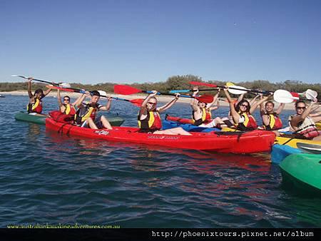獨木舟03_Australian Kayaking Adventures Tours提供