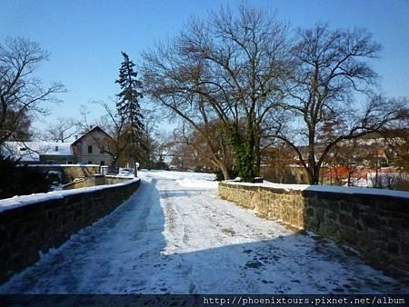 冬日的歐洲飄散著白色之美