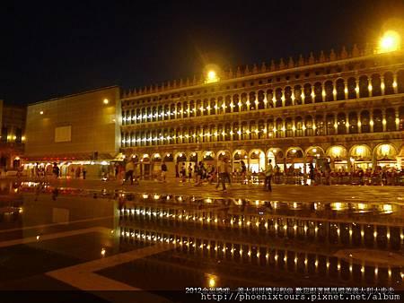 因為在威尼斯島五星住宿,所以可以夜景模式啟動很OK