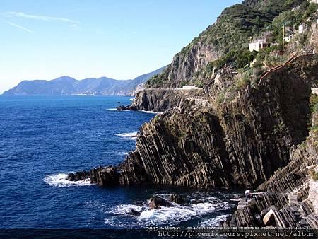 世界文化遺產之五漁村,漫步村落小鎮,彷彿塵世喧囂在此已不復見