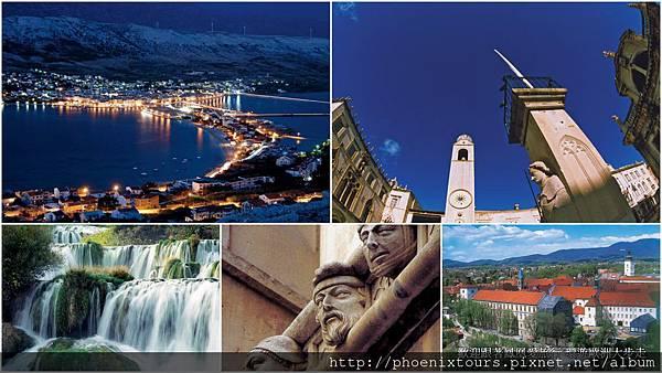 克羅埃西亞克羅埃西亞‧斯洛維尼亞‧蒙地內哥羅‧亞得里亞海跳島之旅12天(TRS)