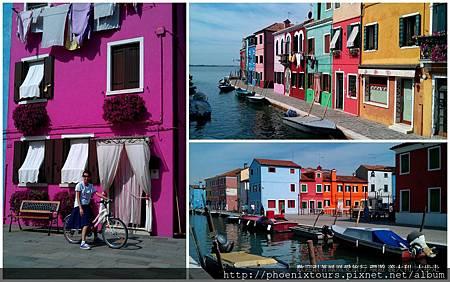 【用色彩絢爛你的旅遊地圖】布拉諾島是位於威尼斯眾多潟湖的小島之一,因當年達文西需選購裝飾米蘭大教堂的蕾絲一夕成名。 不過今日的布拉諾島也因島上建築物的色彩斑斕吸引眾多遊客前來欣賞,2013年5月起,我們一起跟著濃情密義行程奔向彩虹的童話音符吧!  ◎金旅獎濃情蜜義阿瑪菲卡布里五漁村12天