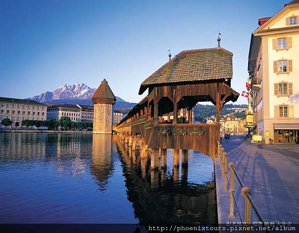 盧森 LUCERN(永遠的瑞士山水圖畫)