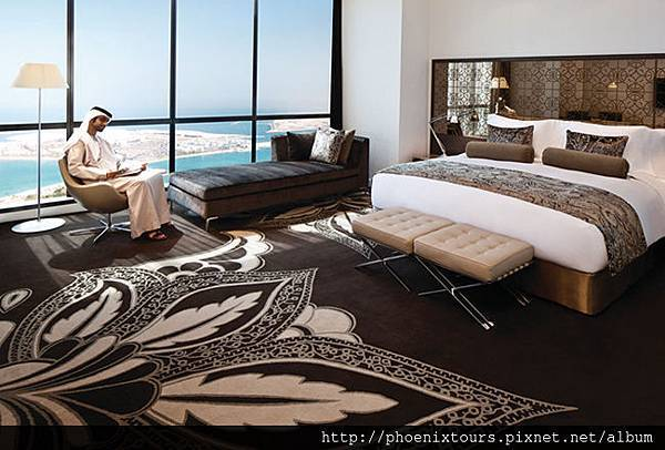 Jumeirah at Etihad Towers - Grand Deluxe Room 1