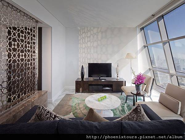 Jumeirah at Etihad Towers - Etihad Suite - Living Area