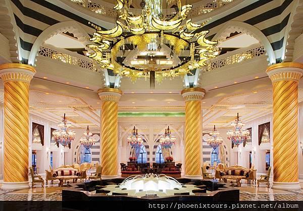 奧圖曼皇宮飯店Jumeirah Zabeel Saray - Lobby