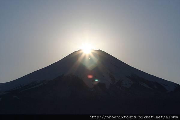 鑽石富士ダイヤモンド富士1