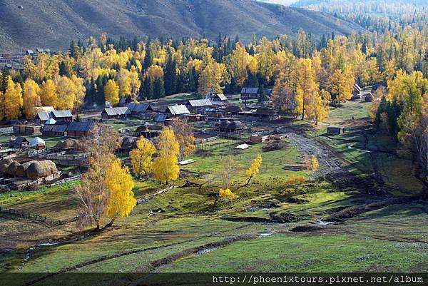 北疆白哈巴村
