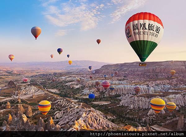 土耳其Cappadocia鳳凰熱氣球
