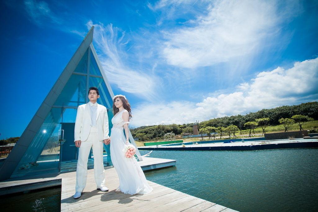 海上教堂:婚紗攝影景點推薦-