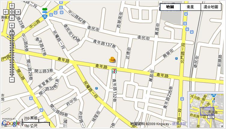 台灣府城隍廟_map.jpg