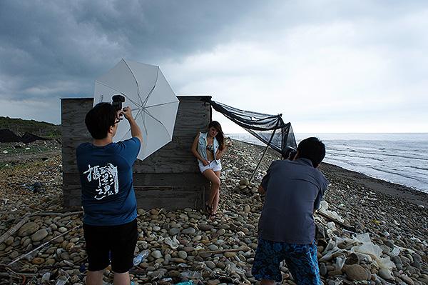 二折式透射傘