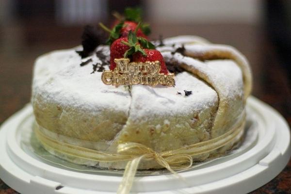 咖啡蛋糕(披法式蛋皮)